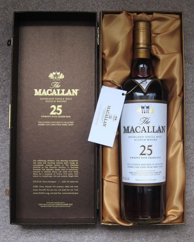 Macallan25SherryOak